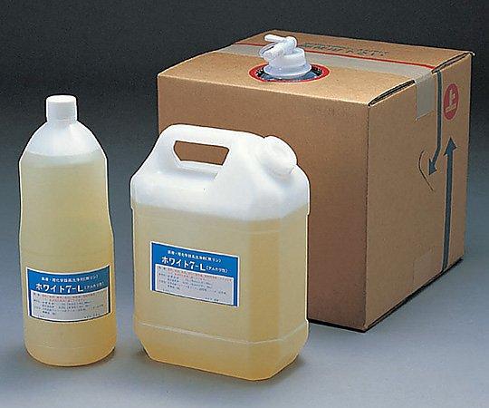 4-089-03 洗浄剤(浸漬用液体)ホワイト7-L 20kg