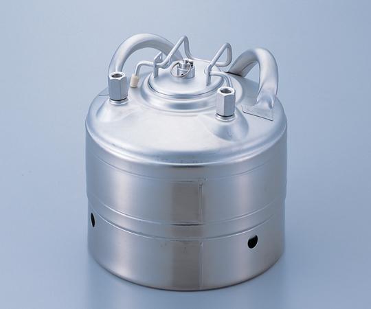 4-5009-03 安全構造ステンレス加圧容器 5L