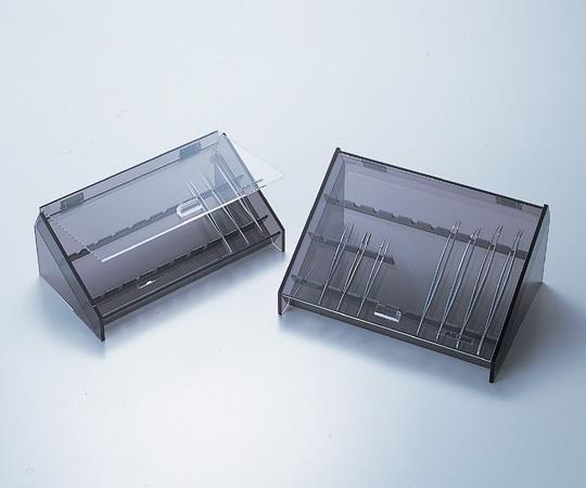 5-1104-02 ピンセットケース(蓋付き) PS-2 275×150×110mm