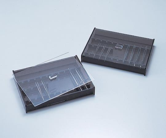5-1105-01 ピンセットケース(蓋付き) PC-1 275×206×40mm