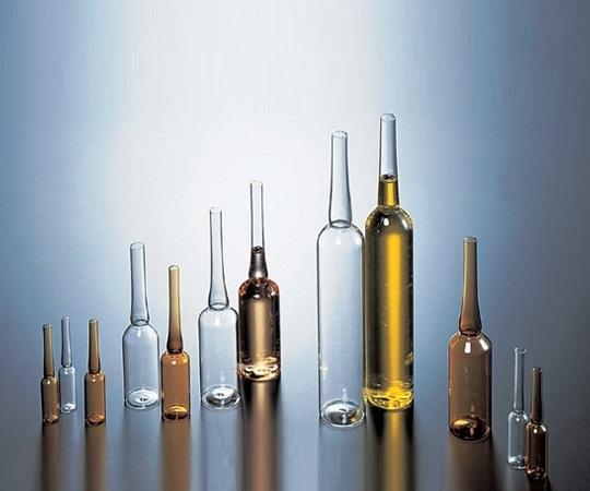 5-124-21 アンプル管(硼珪酸ガラス製) 試料管L 白色 2mL 100本入