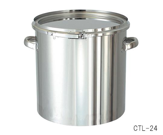 5-149-10 密閉式タンク バンドタイプ 25L
