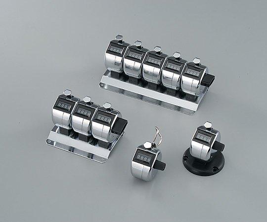 6-5663-04 数取器 5連式・卓上タイプ H-102M-5