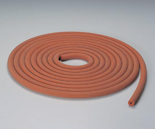 6-590-30 シリコン排気用ゴム管 シリコン 6×21