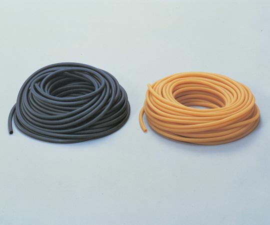 6-594-01 ニューゴム管 黒 4×6 1kg(約71m)