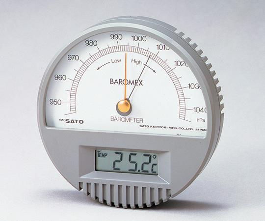 6-6155-01 バロメックス気圧計7612