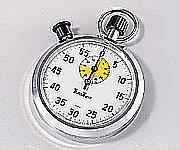 6-7150-03 ストップウォッチ 60分計 1周60秒