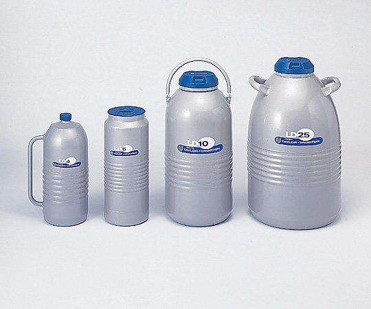 6-7165-04 液体窒素用 デュワー瓶 4L