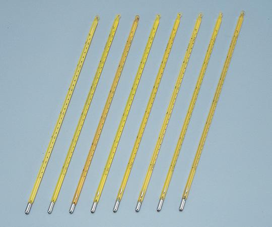 6-7702-04 標準温度計(棒状) No.3 100~150℃ 成績書付