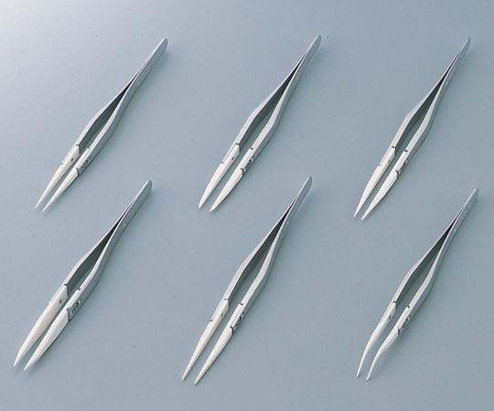 6-7909-12 セラミックチップピンセット 72MZ