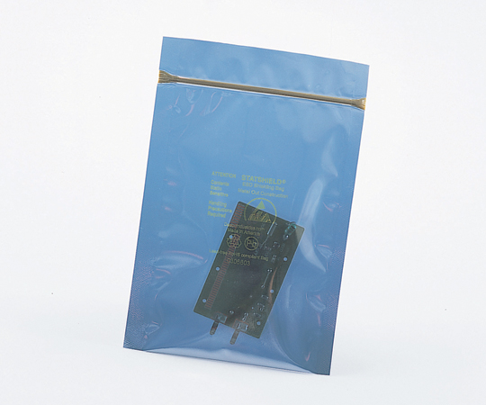 6-8335-05 静電気防止バッグ ジッパー型 305×457 約0.08~0.09mm