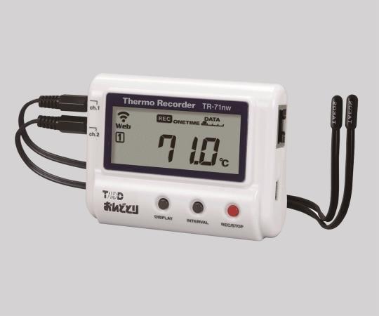 6-9183-34 温度記録計 TR-71nw おんどとり 温2