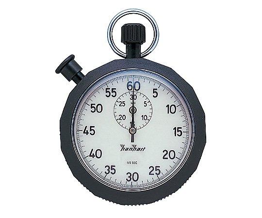 6-9198-01 蛍光ストップウォッチ 30分計 1周60秒