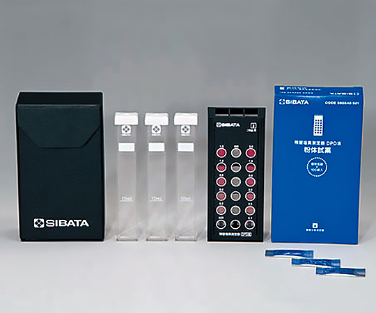6-9785-02 残留塩素測定器 DPD法(試薬有り)
