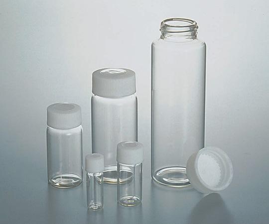 7-2110-04 SCCスクリュー管瓶白NO.2 6ml (純水洗浄処理済み)
