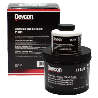 デブコン ブラッシャブルセラミック 赤 耐摩耗 リキッド 2ポンド(0.9kg)セット DV11760