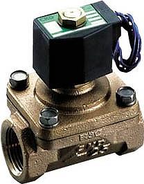 CKD パイロットキック式2方弁ピストン駆動弁 APK11-15A-02C-AC100V