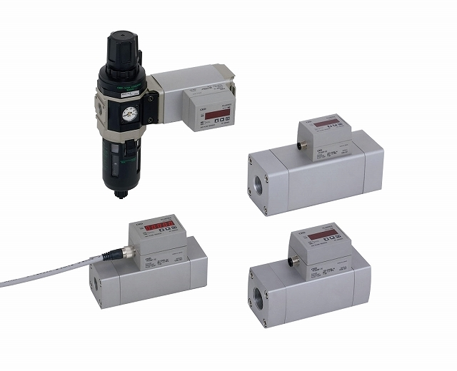 CKD フルーレックス 圧縮空気用流量センサ PFU2000F-15-4W-A6N