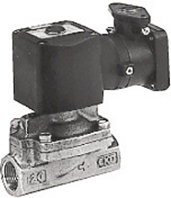 CKD パイロット式2ポート弁(防爆・d2G4) AD11E4-15A-03T-AC100V