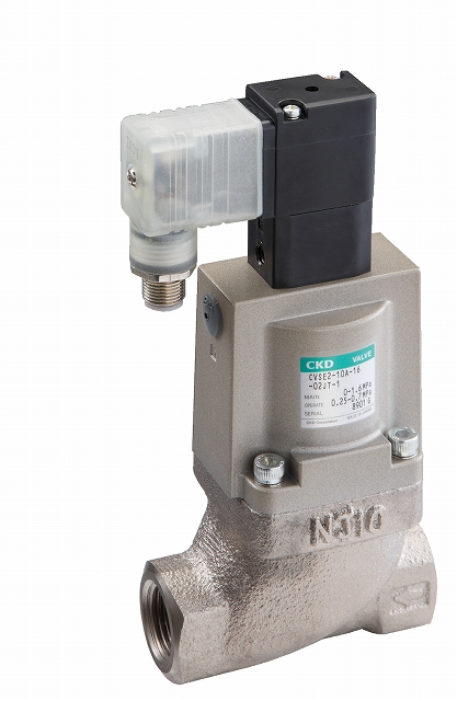 CKD 低圧損形低圧クーラント電磁弁搭載 CVSE2-32A-05-B2HS-3