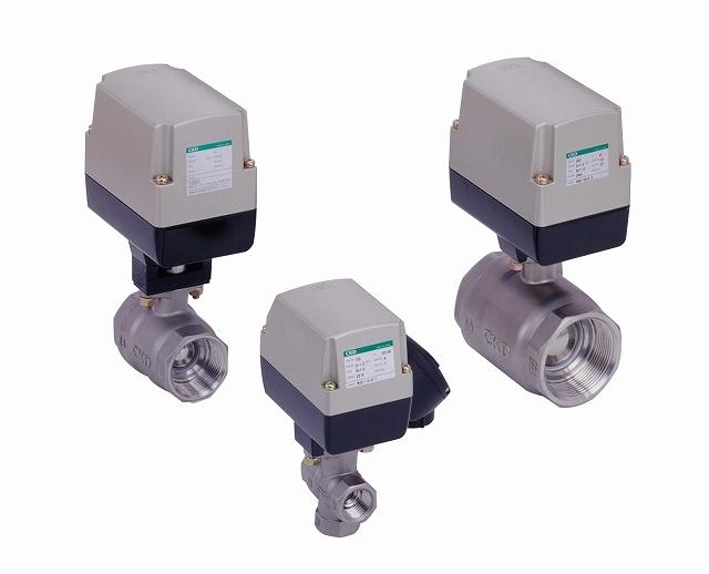 CKD モータバルブ2ポート弁 MXB1-50-0-3