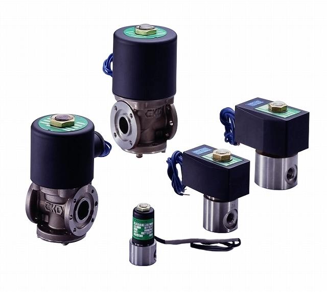 CKD 遅延真空電磁弁 HVL12-4S6-5-AC200V