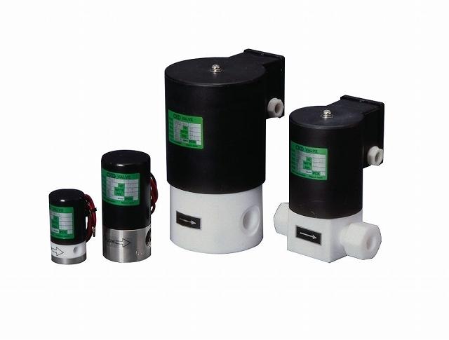 CKD 薬液用2ポート電磁弁 M-03-2PV-1-AC200V