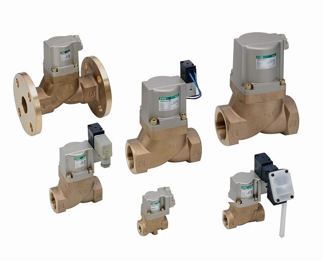 CKD 電磁弁搭載形シリンダバルブ SVB1W-40F-E2C-AC100V