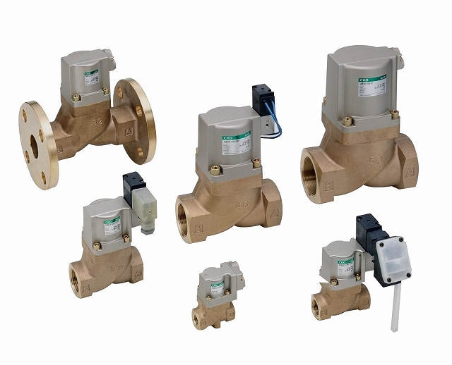 CKD 電磁弁搭載形シリンダバルブ SVB1V-40A-03T-AC100V