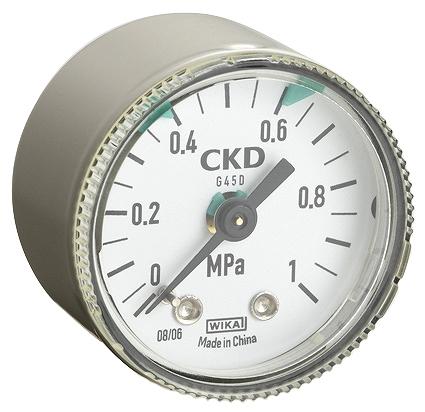 5 最安値 500円 税込 以上のご購入で送料無料 格安 価格でご提供いたします CKD リミットマーク付圧力計 G45D-6-P10