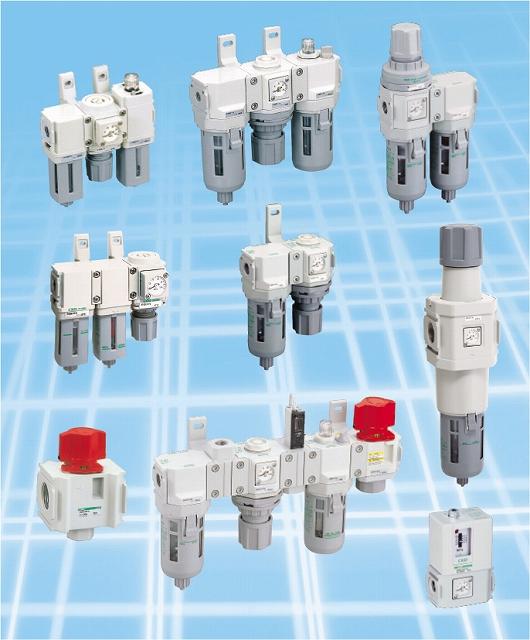 白色シリーズ C1030-6N-W-T8-A8NW F.M.Rコンビネーション CKD