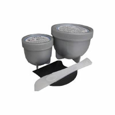 シロキ 速乾万能型金属補修材 メタリペア 1kgセット メタルグレー