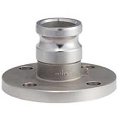 トヨックス カムロックアダプター フランジ付(標準品JIS10K相当品) アルミ 150A 633-LAS