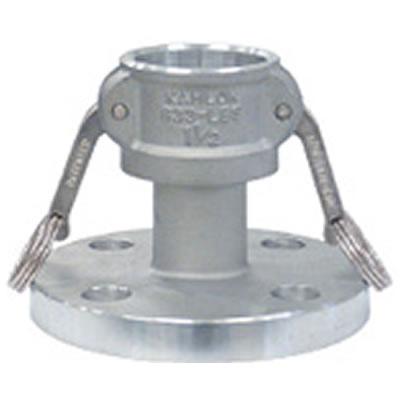 トヨックス カムロックカプラー フランジ付(標準品JIS10K相当品) アルミ 20A 633-LBS