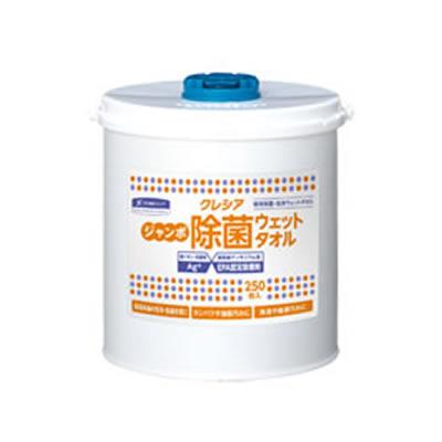 クレシア ジャンボ除菌ウェットタオル 本体 64130 6個入 (1ケース)