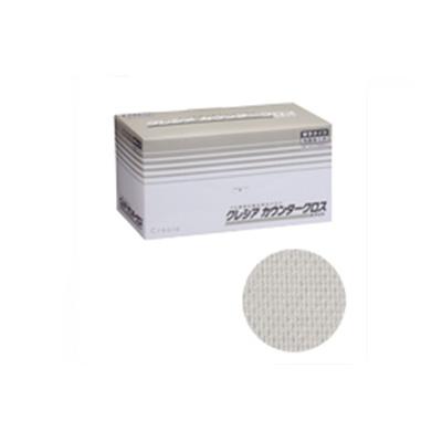 クレシア カウンタークロス 厚手タイプ ホワイト 65302 (60枚×6BOX)