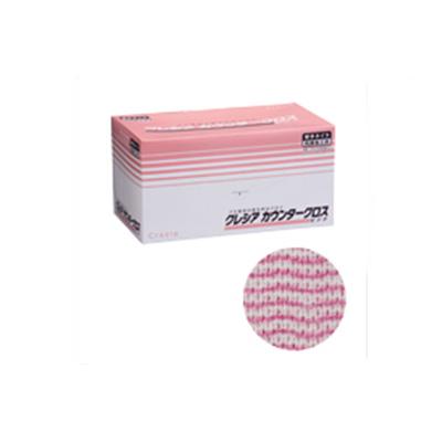クレシア カウンタークロス 厚手タイプ ピンク 65322 (60枚×6BOX)