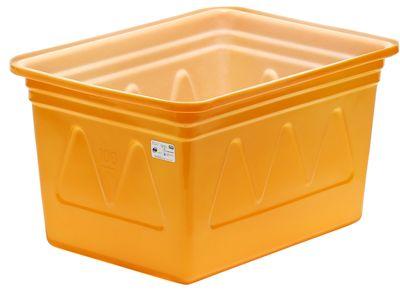 スイコー K型容器 K-200 オレンジ 【代金引換不可】【個人宅不可】