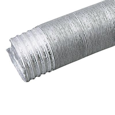 クラレプラスチックス 伸縮アルミダクトS型 定尺品 125径×5m
