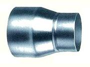 期間限定お試し価格 クリモト 片落管 300径-200径 亜鉛めっき鋼板 全国一律送料無料