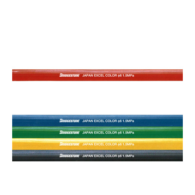 品質保証 ブリヂストン ゴムホース エクセルカラーホース 赤 12径×50m:GAOS 店-ガーデニング・農業
