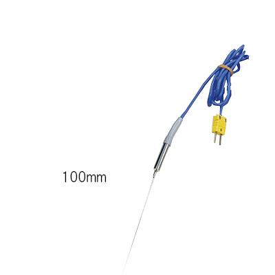 3-4718-13 真空調理用芯温度計セット針状センサ100