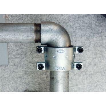児玉工業 S100A圧着ソケット 鋼管兼用型(継手部・直管部) *