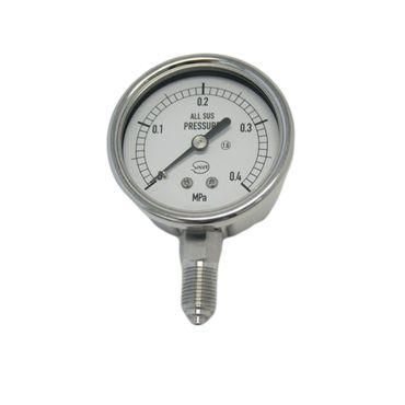 ソーサープランニング A-ASPG-0.4 Mpa オールステンレス圧力計 A型 100