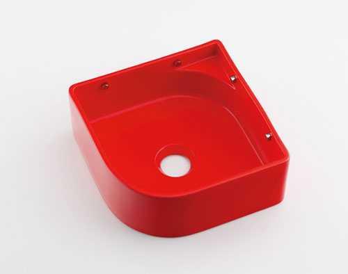 使い勝手の良い 大規模セール カクダイ 壁掛手洗器 493-048-R レッド