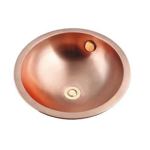 カクダイ 丸型洗面器 493-135