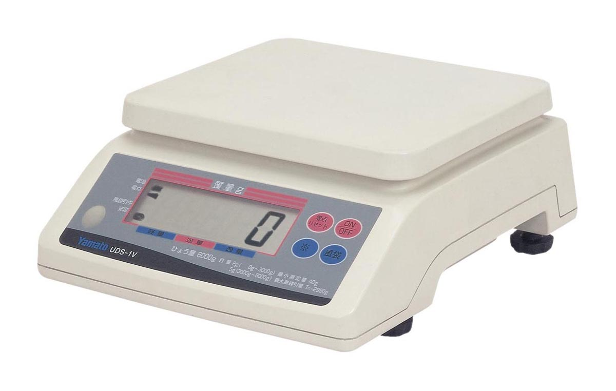 大和製衡 デジタル自動上皿はかり UDS-1VN-6