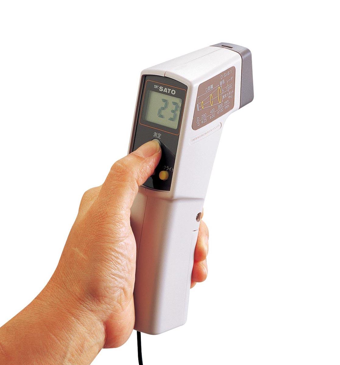 佐藤計量器製作所 放射温度計 SK-8700II