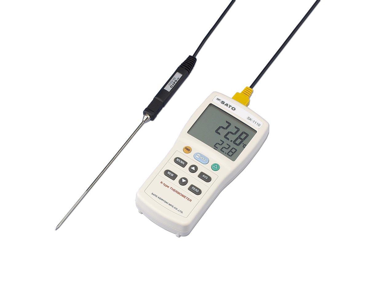 佐藤計量器製作所 デジタル温度計 SK-1110