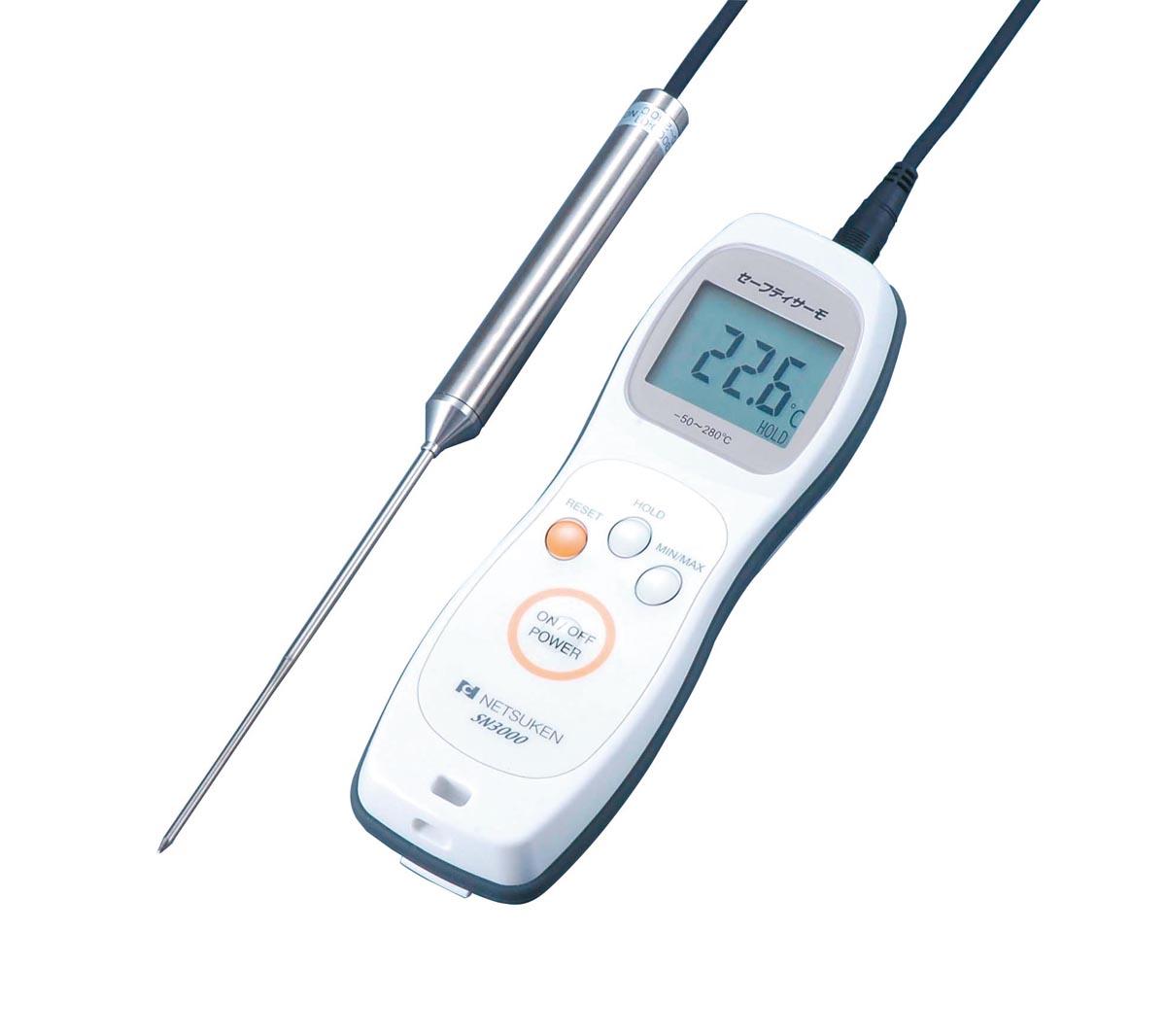熱研 防水型デジタル温度計(センサ付) SN3000